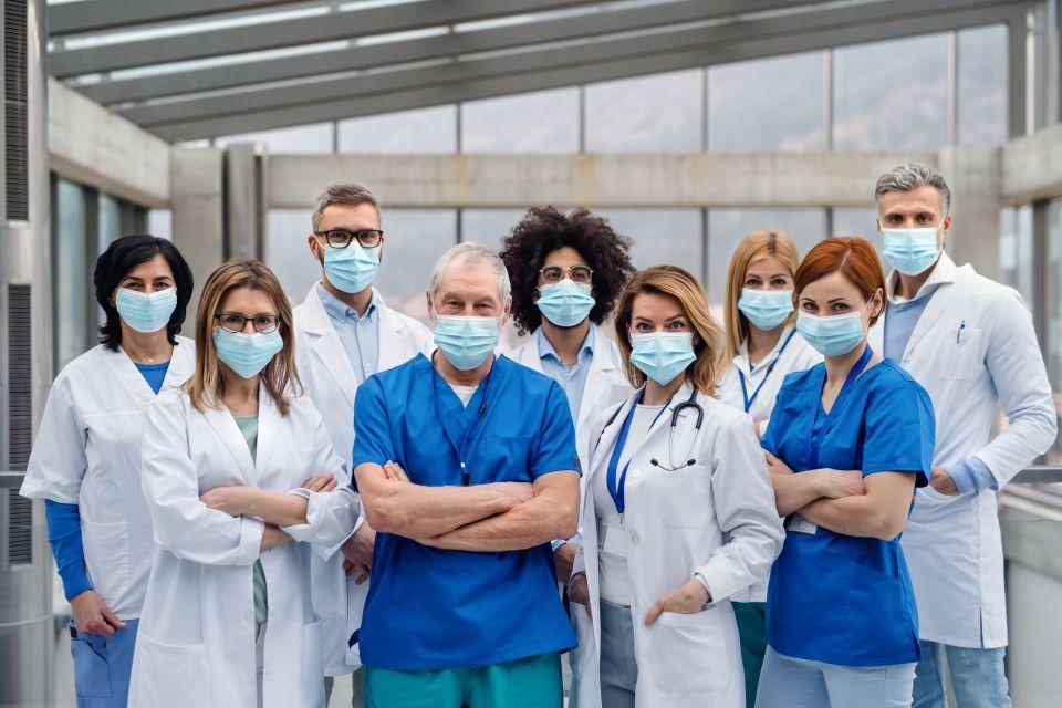Entlastetes Krankenhausteam dank Pager von TOBO